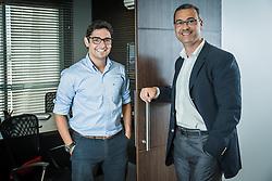 Fernando Tornaim (à dir), da Tornak Participações e Investimentos e Mathias Rodrigues da Phorbis. FOTO: Jefferson Bernardes/ Agência Preview