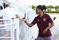 July 14, 2018 - Saint Quentin, France - Loic Remy (Lille) et supporters (Credit Image: © Panoramic via ZUMA Press)