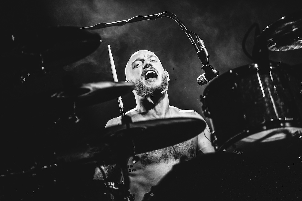 Ben Johnston/Biffy Clyro performing live at the Rockhal concert venue in Luxembourg, Europe on December 15, 2013