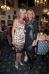 Left to right, LADY CAFFYN PARSONS and CAROL CLARK at 'Lunch for Life' in aid of Marie Curie Cancer Care held at Wentworth Golf Club, Berkshire on 2nd march 2009.