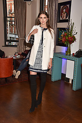 Sabrina Percy at The Tribe Syndicate launch party hosted by Highclere Thoroughbred Racing at Beaufort House, 354 King's Rd, London England. 25 April 2018.