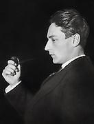 "Compton MacKenzie, founder of ""The Gramophone"" magazine, England, UK, 1912"