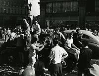 1945 VJ Day on Hollywood Blvd.