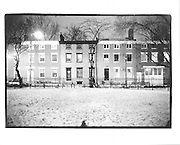Snow in the park, Cobble Hill, Brooklyn, New York 1992© Copyright Photograph by Dafydd Jones 66 Stockwell Park Rd. London SW9 0DA Tel 020 7733 0108 www.dafjones.com