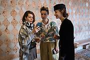 MARGUERITA OSEPYAN, ANNA SHPILKO, ALEXANDRA KAPORSKAYA, Venice Biennale opening week. Dys Func tional, Gelleria Giorgio Francetti All. Ca'D'oro, 7 May 2019