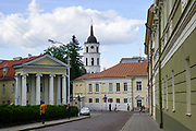 Street scene, old town Vilnius, Lithuania