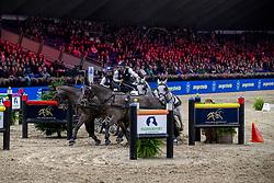 De Ronde Koos, NED, Favory Allegra Futar, Oosterwijk's Kasper, Siglavy Capriola Szilaj, Tjibbe<br /> Jumping Mechelen 2019<br /> © Hippo Foto - Dirk Caremans<br />  30/12/2019