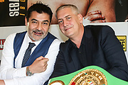 BOXEN: EC Boxpromotion & SES Boxing, Pressekonferenz, Hamburg, 17.12.2019<br />  Promoter Erol Ceylan und Ulf Steinforth<br /> © Torsten Helmke