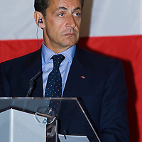 French president Nicolas Sarkozy during his official visit to Hungary. Budapest, Hungary. Friday, 14. September 2007. ATTILA VOLGYI