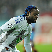 CSKA Moskva's Vagner LOVE during their UEFA Champions League group stage matchday 4 soccer match Trabzonspor between CSKA Moskva at the Avni Aker Stadium at Trabzon Turkey on Wednesday, 02 November 2011. Photo by TURKPIX