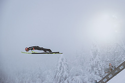 10.12.2020, Planica Nordic Centre, Ratece, SLO, FIS Skiflug Weltmeisterschaft, Planica, Einzelbewerb, Qualifikation, im Bild Constantin Schmid (GER) // Constantin Schmid of Germany during the qualification for the men individual competition of FIS Ski Flying World Championship at the Planica Nordic Centre in Ratece, Slovenia on 2020/12/10. EXPA Pictures © 2020, PhotoCredit: EXPA/ JFK