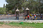 Playground Israel, Jerusalem Mountains, Ein Hemed National Park (AKA Aqua Bella)