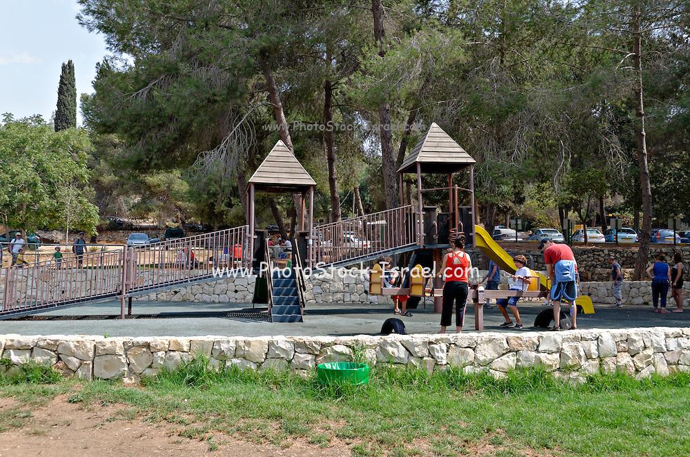 Playground Israel, Jerusalem Mountains, Ein Hemed National Park (AKA Aqua Bella)
