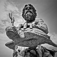 The King Neptune statue in Virginia Beach