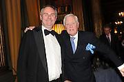 WILLIAM CASH; SIR BENJAMIN SLADE, Celebration of the  200TH Anniversary of the  Birth of Rt.Hon. John Bright MP  and the publication of <br /> ÔJohn Bright: Statesman, Orator, AgitatorÕ by Bill Cash MP. Reform Club. London. 14 November 2011. <br /> <br />  , -DO NOT ARCHIVE-© Copyright Photograph by Dafydd Jones. 248 Clapham Rd. London SW9 0PZ. Tel 0207 820 0771. www.dafjones.com.<br /> WILLIAM CASH; SIR BENJAMIN SLADE, Celebration of the  200TH Anniversary of the  Birth of Rt.Hon. John Bright MP  and the publication of <br /> 'John Bright: Statesman, Orator, Agitator' by Bill Cash MP. Reform Club. London. 14 November 2011. <br /> <br />  , -DO NOT ARCHIVE-© Copyright Photograph by Dafydd Jones. 248 Clapham Rd. London SW9 0PZ. Tel 0207 820 0771. www.dafjones.com.