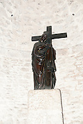 Statue of Saint Helena in the crypt of the Church of the Holy Sepulchre