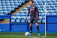 Leeds United midfielder Ian Poveda (15)  during the U23 Professional Development League match between U23 Sheffield Wednesday and U23 Leeds United at Hillsborough, Sheffield, England on 3 February 2020.
