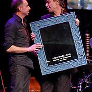 NLD/Amsterdam/20081115 - Uitreiking VSCD Cabaretprijzen 2008, winnaar Poelofonario 2008, Maarten van Roozendaal