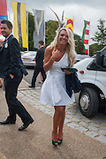 HOLLIE WEBSTER, Ladies Day, Glorious Goodwood. Goodwood. August 2, 2012