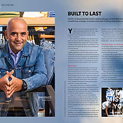 Daniele Cipolletti: Levi Strauss' Operations Manager, Europe for DHL Delivered Magazine. Issue 5/2020.
