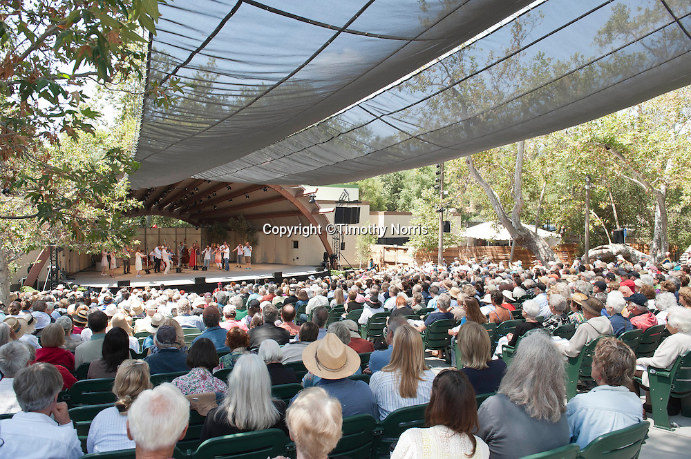 The Norwegian Chamber Orchestra lead by Terje Tønnesen performs Edvard Grieg's From Holberg's Time; Suite in Olden Style, Op. 40 at the 66th Ojai Music Festival on June 10, 2012 in Ojai, California.