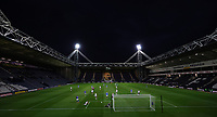 Football - 2020 / 2021 EFL Cup - Round 3 - Preston North End vs Brighton & Hove Albion<br /> <br /> General views of the match at Deepdale Stadium.<br /> <br /> COLORSPORT/LYNNE CAMERON
