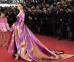 """Red Carpet """"La Plus Belles Annees d'une Vie"""" - The 72nd International Cannes Film Festival. 19 May 2019 Pictured: Isabeli Fontana. Photo credit: MEGA TheMegaAgency.com +1 888 505 6342"""