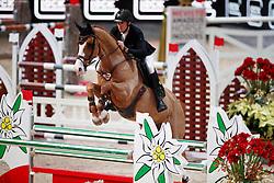 Neretnieks Kristaps, LAT, For Fan<br /> MEVISTO Amadeus Horse Indoor Salzburg<br /> © Hippo Foto - Stefan Lafrentz<br /> 11-12-2016