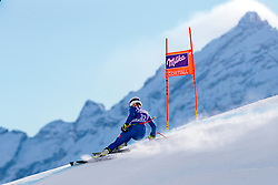 18.01.2018, Olympia delle Tofane, Cortina d Ampezzo, ITA, FIS Weltcup Ski Alpin, Abfahrt, Damen, 2. Training, im Bild Laura Pirovano (ITA) // Laura Pirovano of Italy in action during the 2nd practice run of ladie' s downhill of the Cortina FIS Ski Alpine World Cup at the Olympia delle Tofane course in Cortina d Ampezzo, Italy on 2018/01/18. EXPA Pictures © 2018, PhotoCredit: EXPA/ Dominik Angerer