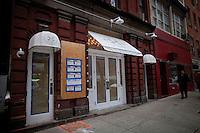 Exterior of Haven's Kitchen in New York City...Photo by Robert Caplin.