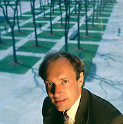 Tim Berners Lee, a graduate of Oxford University, England, inventer of the World Wide Web, photographed at MIT in Cambridge, Massachusetts where he now teaches.<br /> Tim Berner-Lee, a graduate of Oxford University, England, inventer of the World Wide Web, photographed at MIT in Cambridge, Massachusetts where he now teaches.