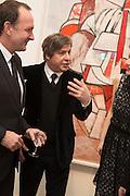 SIMON LEE; GEORGE CONDO, George Condo - private view . Simon Lee Gallery, 12 Berkeley Street, London, 10 February 2014