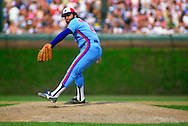 CHICAGO - 1986: Jeff Reardon of the Montreal Expos pitches during an MLB game against the Chicago Cubs at Wrigley Field in Chicago, Illinois.  Reardon pitched for the Expos from 1981-1986. (Photo by Ron Vesely)