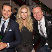 NLD/Hilversum/20151207- Sky Radio's Christmas Tree for Charity, Jury Fred van leer, Nance Coolen en Pascal Koenen