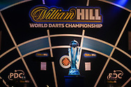 The Sid Waddell  Trophy during the William Hill World Darts Championship Final at Alexandra Palace, London, United Kingdom on 3 January 2021.