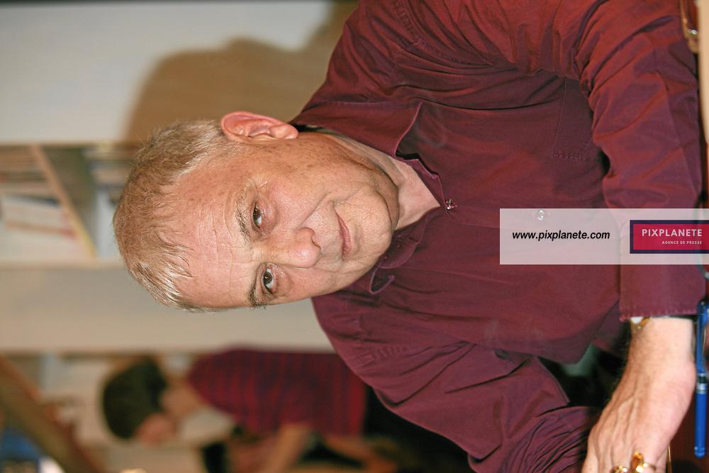 Philippe Sollers - Salon du livre 2007 - Paris, le 24/02/2007 - JSB / PixPlanete