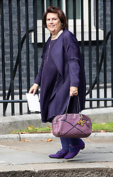© Licensed to London News Pictures. 18/09/2018. London, UK. Suzy Menkes arrives in Downing Street to attend a  Fashion Week reception hosted by Prime Minister Theresa May. Photo credit: Peter Macdiarmid/LNP