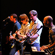 """The band """"Curtains for You"""" performs at the Bumbershoot Festival 8/4/2011"""