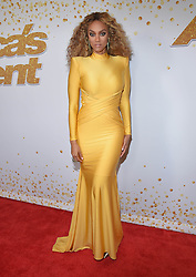 August 15, 2018 - Los Angeles, California, USA - 8/14/18.Tyra Banks at ''America''s Got Talent'' Red Carpet event in Los Angeles, CA. (Credit Image: © Starmax/Newscom via ZUMA Press)