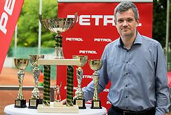 Tomaz Berlocnik at Petrol VIP tournament 2018, on May 24, 2018 in Sports park Tivoli, Ljubljana, Slovenia. Photo by Vid Ponikvar / Sportida