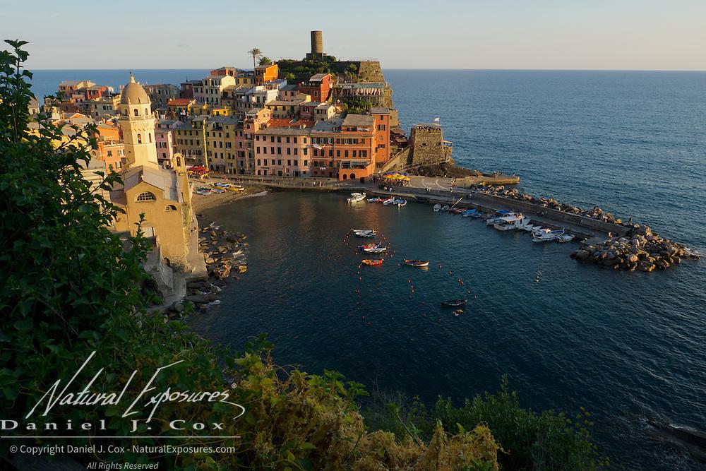 Seaside fishing village of Vernazza, Italy