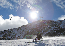 02.10.2012, Rettenbachferner, Soelden, AUT, OeSV, Training, im Bild Klaus Kroell (AUT) // Klaus Kroell of Austria during a practice session of the Austrian Ski Team 'OeSV' at Rettenbachferner in Soelden, Austria on 2012/10/02. EXPA Pictures © 2012, PhotoCredit: EXPA/ J. Groder