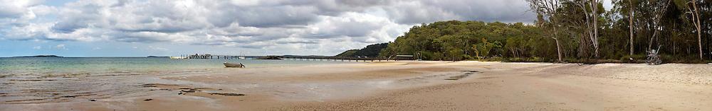 Landscape of Kingfisher Bay, Fraser Island, Queensland, Australia