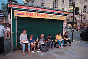 Sketching in Piccadilly circus, 9 p.m. . London, 21 July 2016