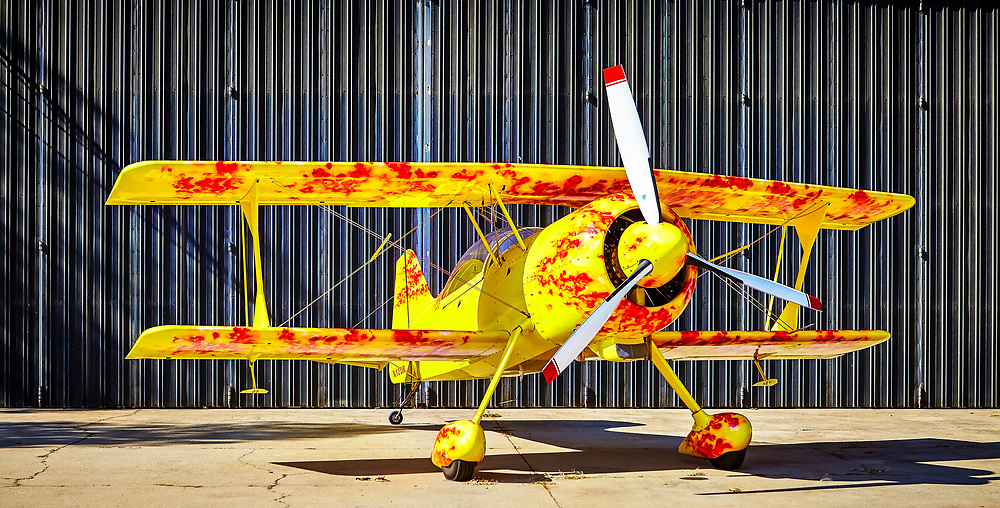 Pitts Model 12, photographed at Air Acres in Woodstock, Georgia.  <br /> <br /> Created by aviation photographer John Slemp of Aerographs Aviation Photography. Clients include Goodyear Aviation Tires, Phillips 66 Aviation Fuels, Smithsonian Air & Space magazine, and The Lindbergh Foundation.  Specialising in high end commercial aviation photography and the supply of aviation stock photography for advertising, corporate, and editorial use.