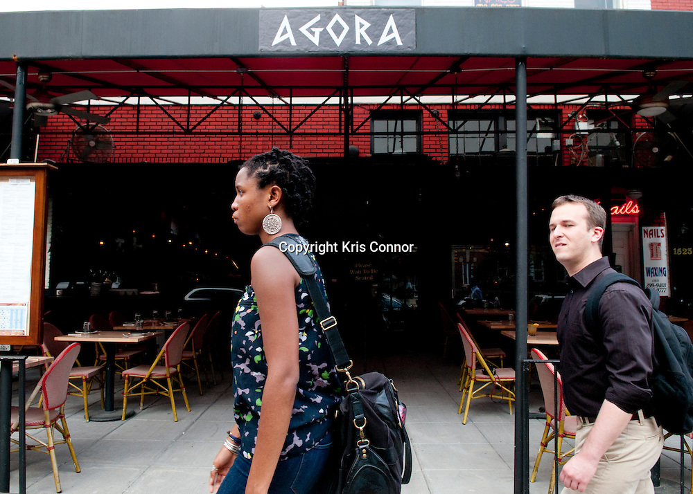 Agora shows off Mediterranean dishes and drinks from Turkey & Greece located near Dupont Circle. Photo By Kris Connor