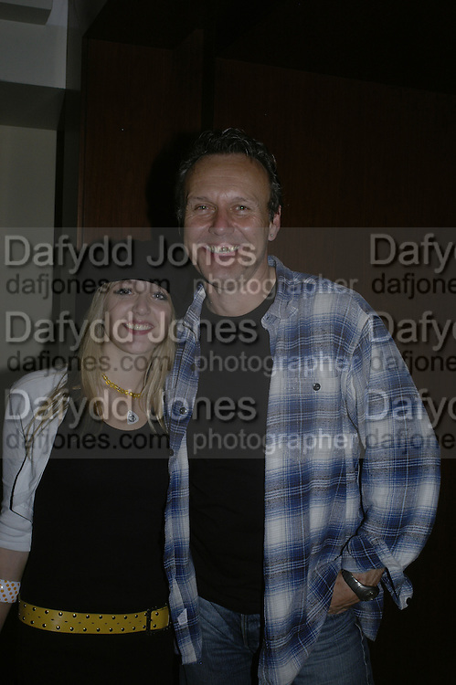 Emily and her father Anthony Head, The 25th hour post party at the Plaza on the River, 18 Albert Embankment. Culmination of the 24 Hour Plays Celebrity Gala at the Old Vic.London. 8 October 2006.  -DO NOT ARCHIVE-© Copyright Photograph by Dafydd Jones 66 Stockwell Park Rd. London SW9 0DA Tel 020 7733 0108 www.dafjones.com