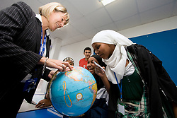 Students and tutor on a Tourism and Travel course at Barnet College North London