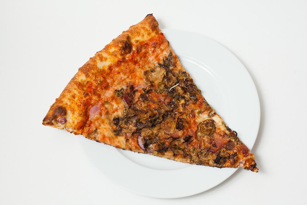 Kira Tierston slice from Pizza Brain ($4.25)