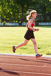 Adrian Martinez Classic track meet, Jan Holmquist, 71, wins 50+ Mile in 6:37.21 to set new age-group world record